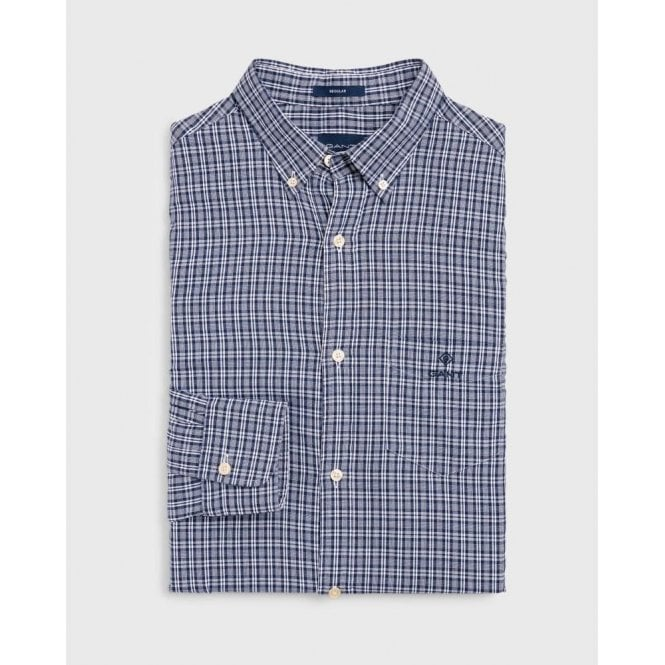 GANT Regular Fit Windblown Oxford Check Shirt
