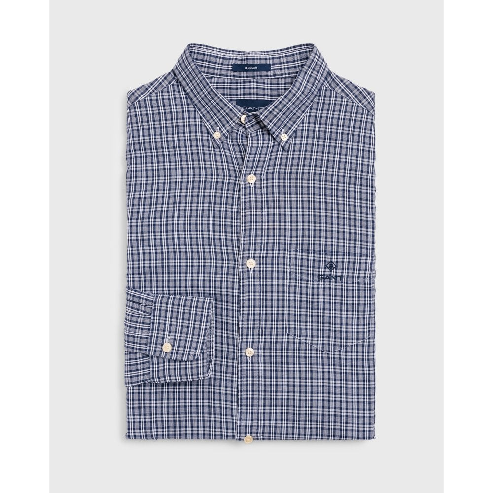 67cf929d5 GANT Regular Fit Windblown Oxford Check Shirt