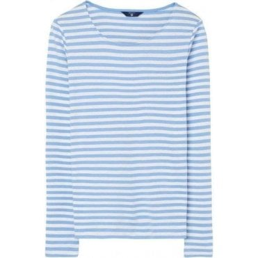 Rib Long-Sleeved T-Shirt