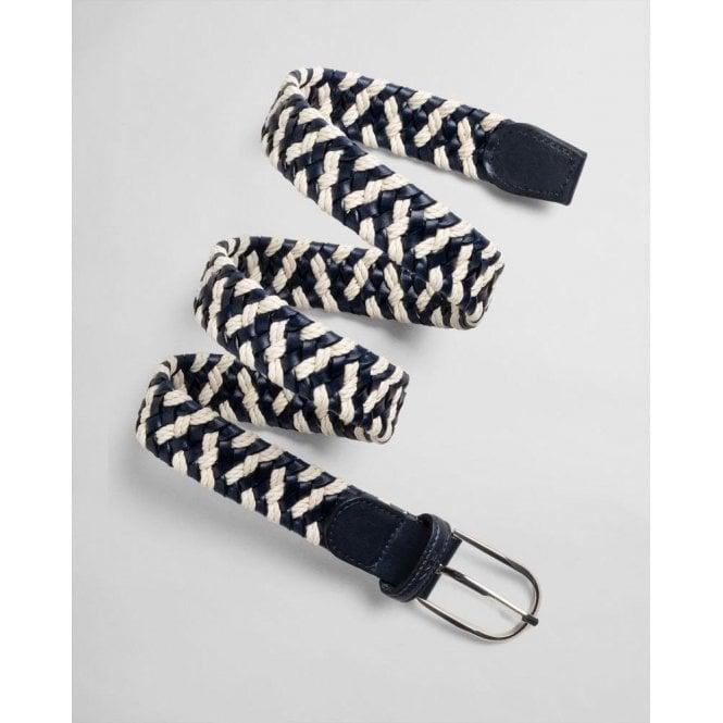GANT Rope Leather Braid Belt