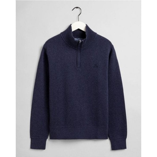 GANT Sacker Rib Half-Zip Sweatshirt