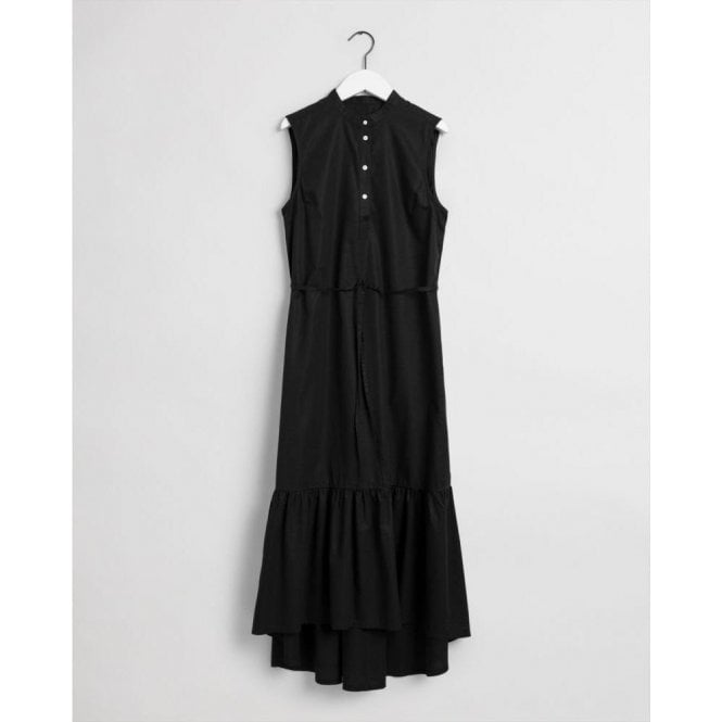 GANT Sleeveless Poplin Midi Dress