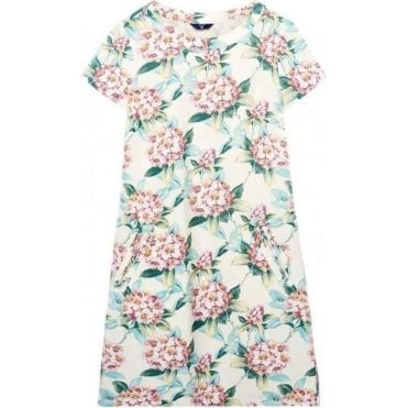 Spring Flower A-Line Dress