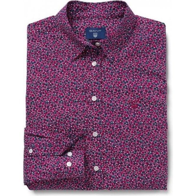 GANT Stretch Broadcloth Floral Shirt