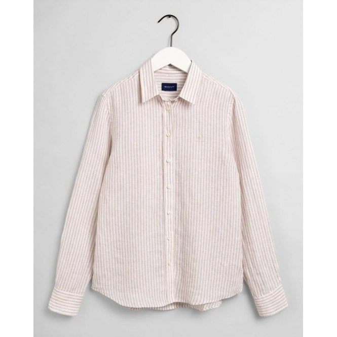 GANT Stripe Linen Chambray Shirt