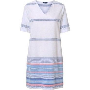 Striped Chambray Tunic