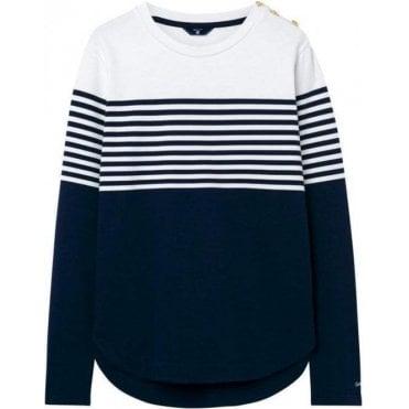 Striped Crewneck Sweatshirt