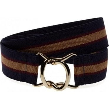 Striped Elastic Belt