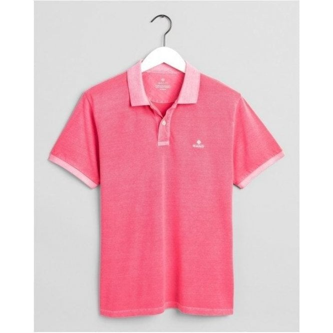 GANT Sunfaded Piqué Polo Shirt