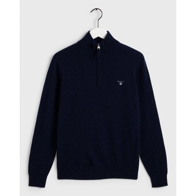 GANT Super Fine Lambswool Half-Zip Sweater