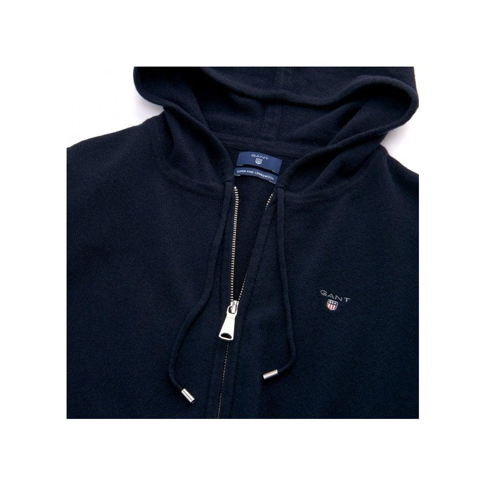 e2a45f0ce47 Gant super fine lambswool zip hoodie womens knitwear o butcher jpg  1000x1000 Lambs wool hoodie