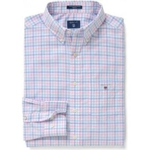 The Broadcloth Three-Color Gingham Shirt
