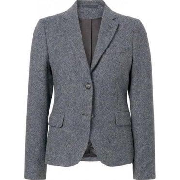 Twill Wool Blazer