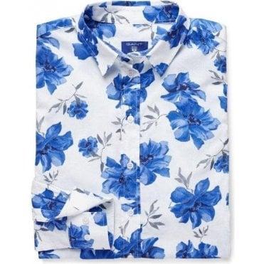 Voile Island Flower Shirt
