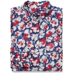 Voile Vivid Flower Shirt