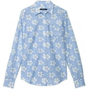 White Lily Voile Shirt