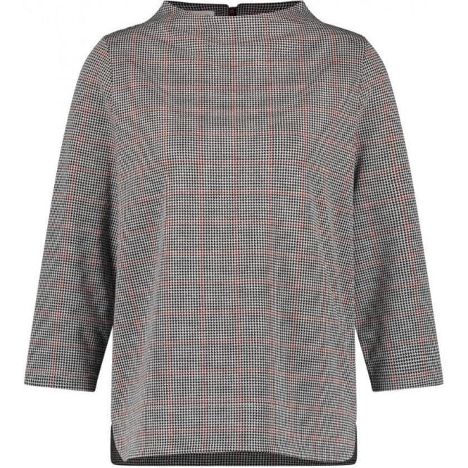 Gerry Weber Lift-up collar and 3/4-length Sleeves Top