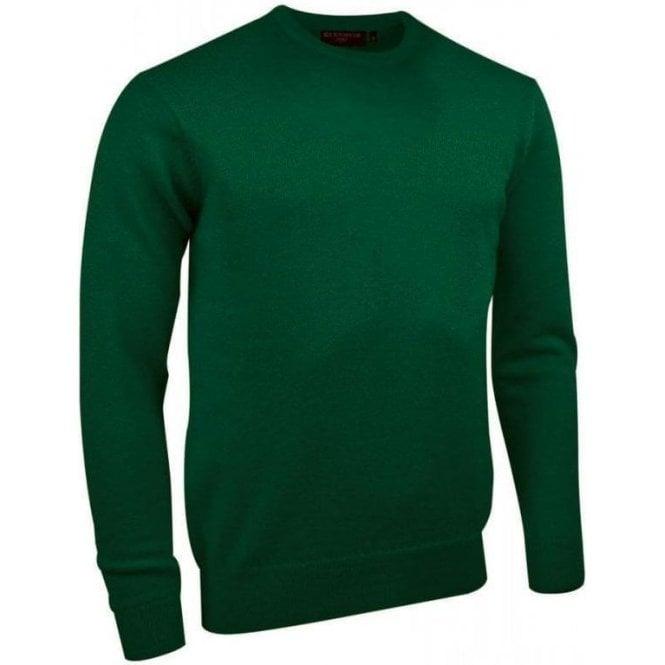 Glenmuir Morar - Mens Crew Neck Lambswool Golf Sweater