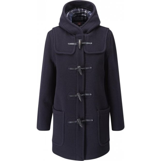 Gloverall Women's Mid Length Original Duffle Coat