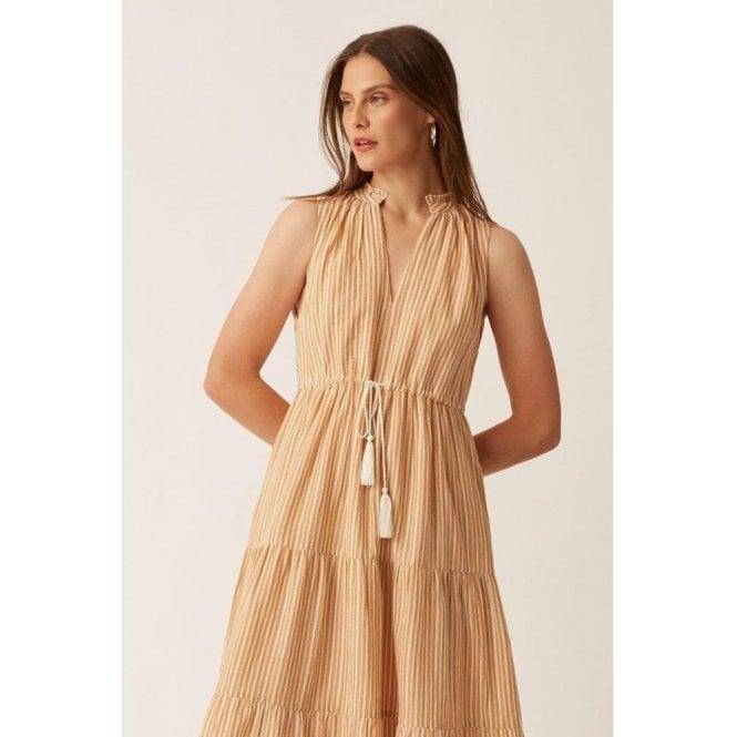 Great Plains Tia Stripe Sleeveless Dress