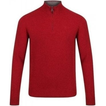 1/2 Zip Lambswool Jumper