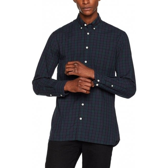 Hackett Blackwatch Tartan Casual Shirt