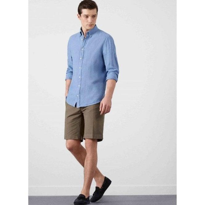 Hackett Garment Dye Linen Shirt