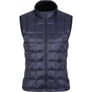 Knit Back Quilted Gilet