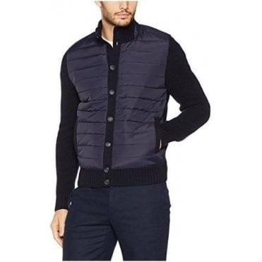 Padded Full Button Cardigan