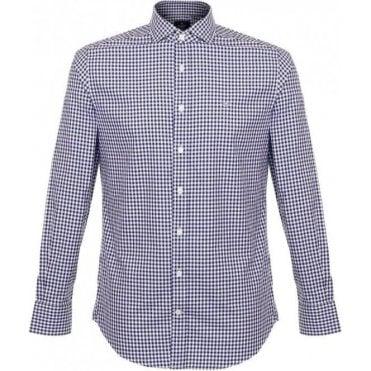 Twill Gingham Shirt