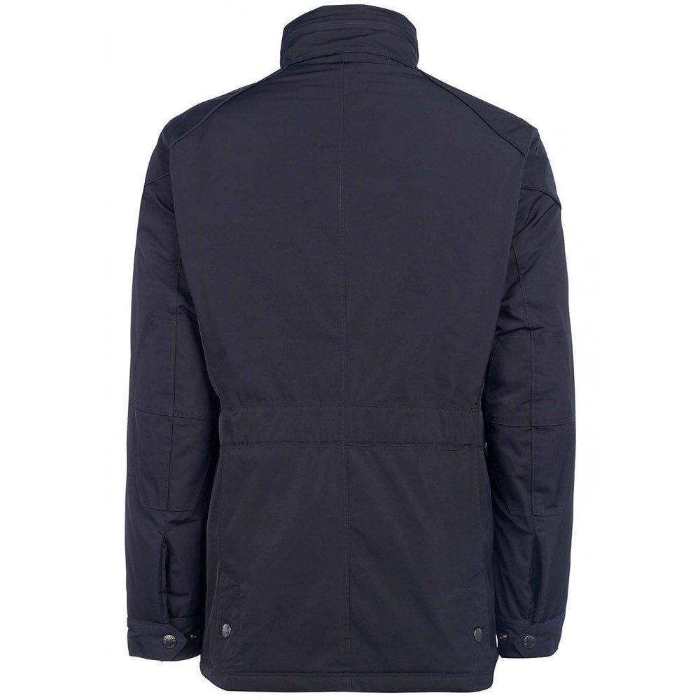 Hackett London Coated Cotton Velo Short Mens Jacket SS17