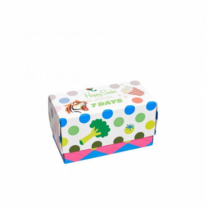 Happy Socks 7 Days Socks Gift Box 7-Pack