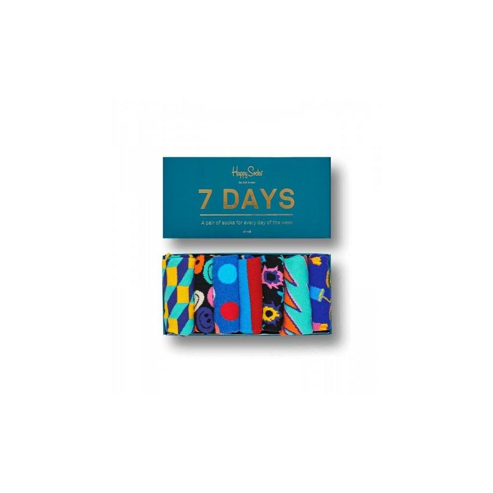 d8ea37c43e9e Happy Socks 7 Days Socks Gift Box - Mens Socks  O C Butcher