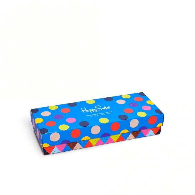 Happy Socks Classic Multi-Color Socks Gift Box 4-Pack