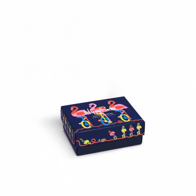 Happy Socks Flamingo Socks Gift Box 2-Pack