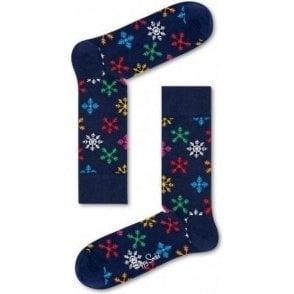 Holiday Snowflake Sock
