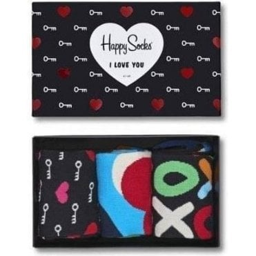 I Love You Socks Gift Box