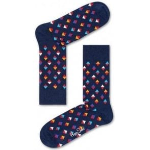 Mini Diamond Sock