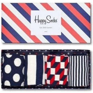 Stripe Socks Gift Box