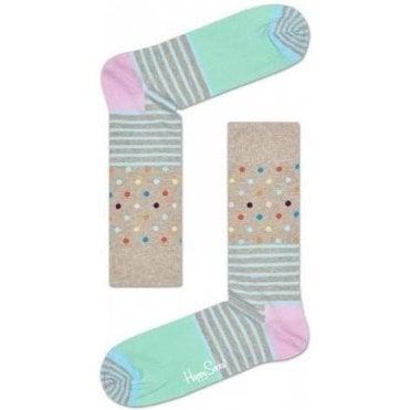 Stripes & Dots Sock