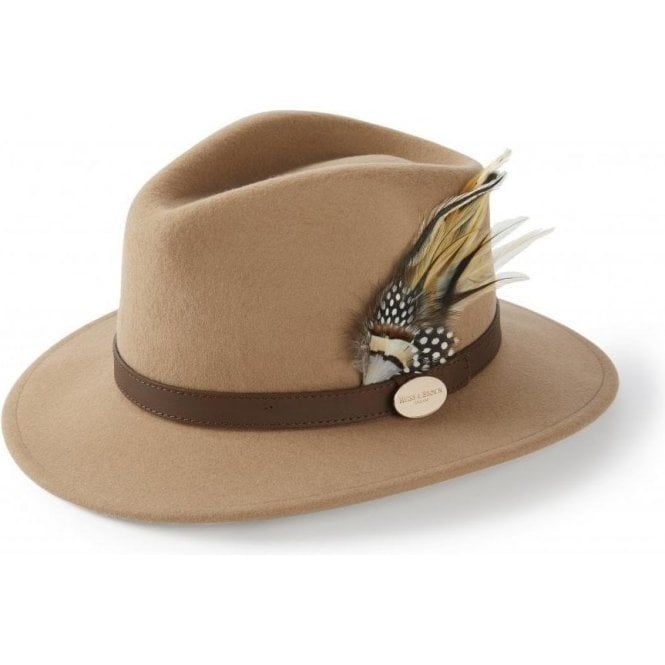 Hicks & Brown The Suffolk Fedora in Camel