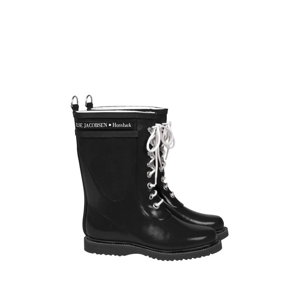 21531fc9625 Ilse Jacobsen Rain boot - Mid calf, Classic with laces