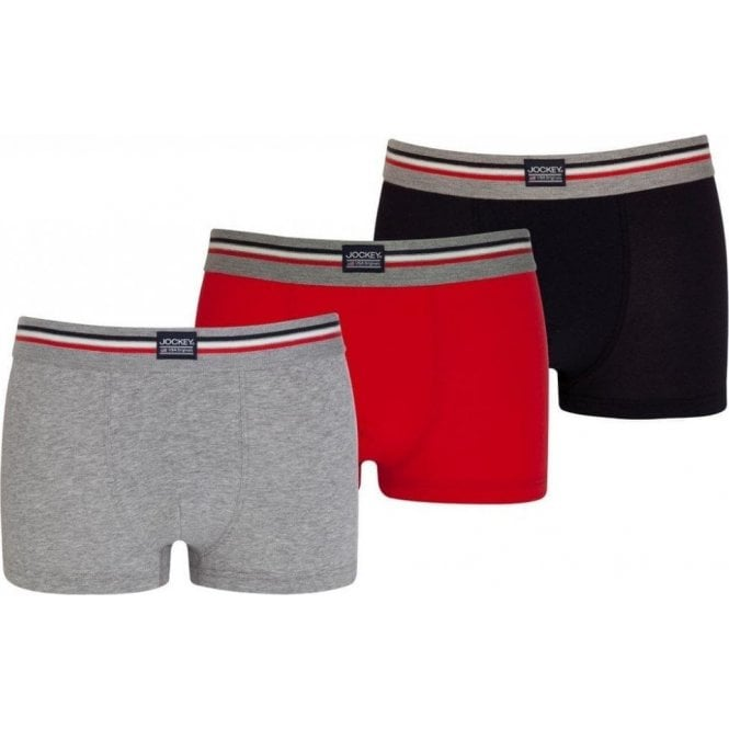 Jockey Cotton Stretch Short Trunk 3 Pack