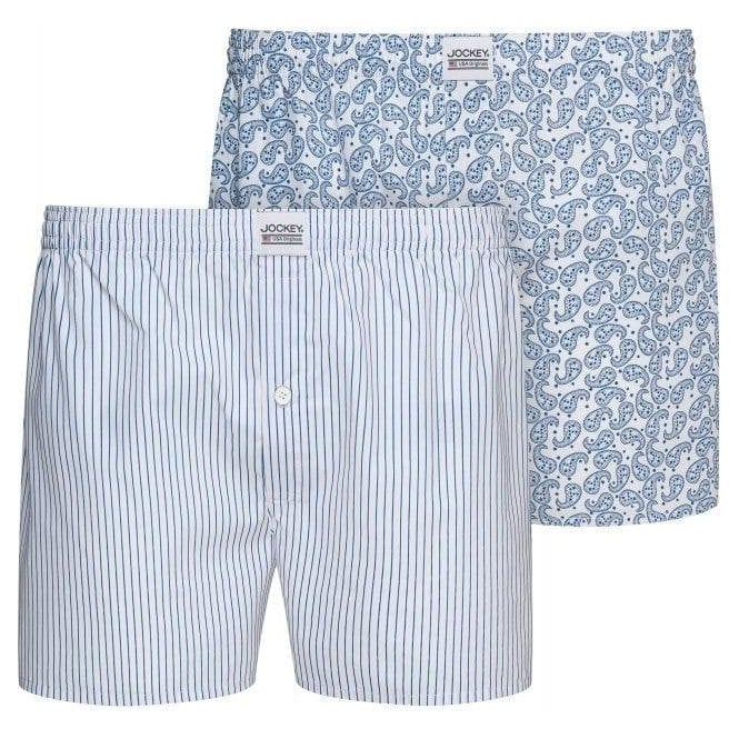 Jockey Everyday Woven Boxer 2 Pack