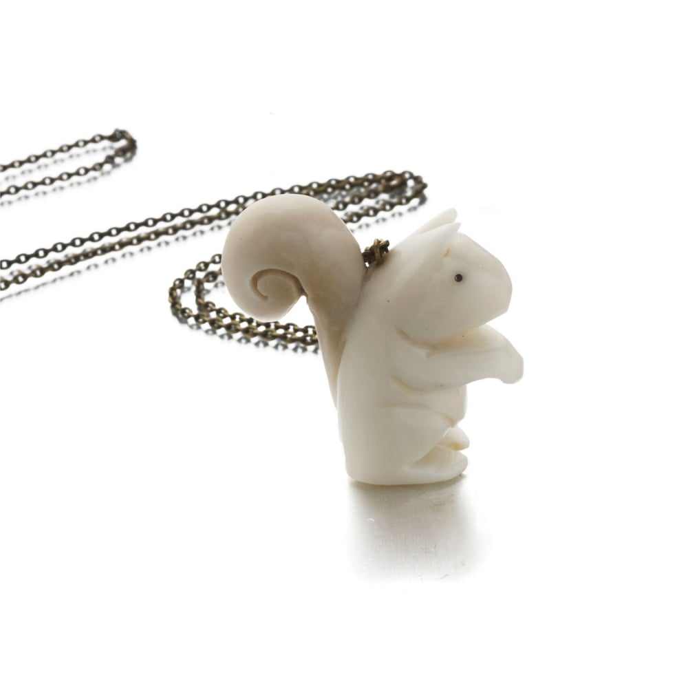 Just trade tagua squirrel pendant womens jewellery watches oc tagua squirrel pendant aloadofball Gallery