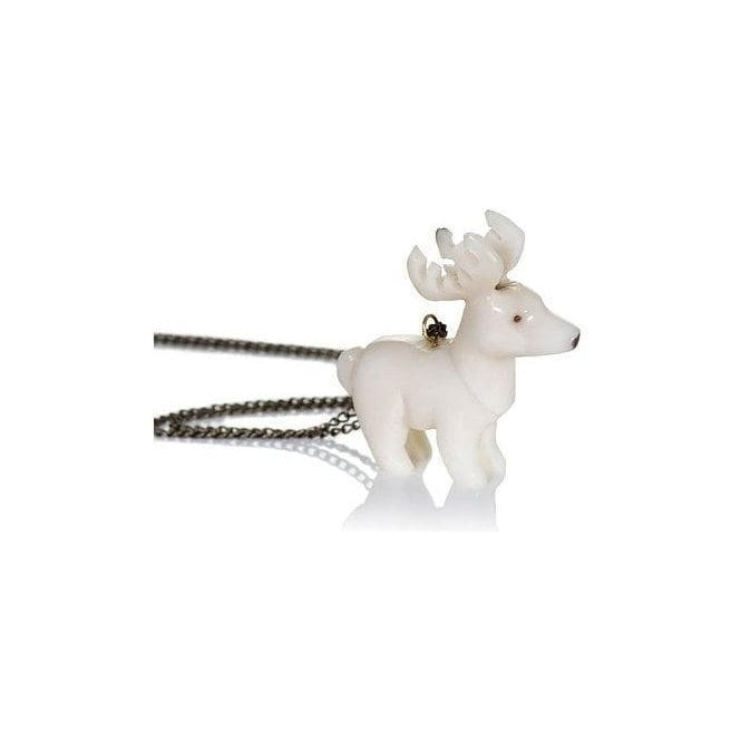 Just Trade Tagua Stag Pendant