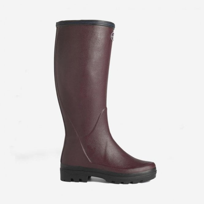 Le Chameau Giverny Jersey Lined Boot