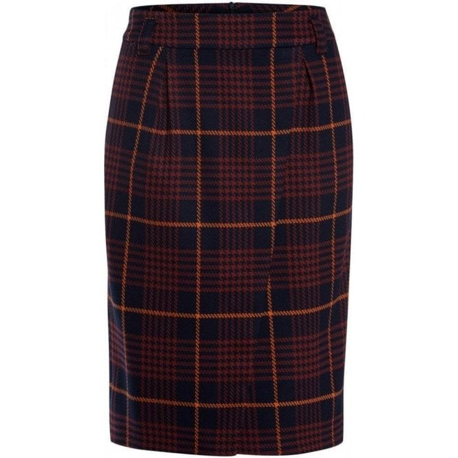 Marc Aurel Fashionable Check Skirt