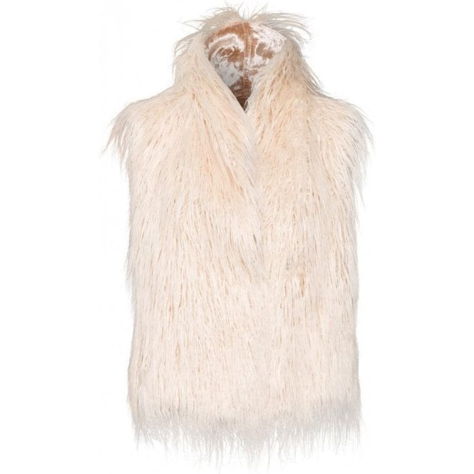 Marc Aurel Faux Fur Gilet