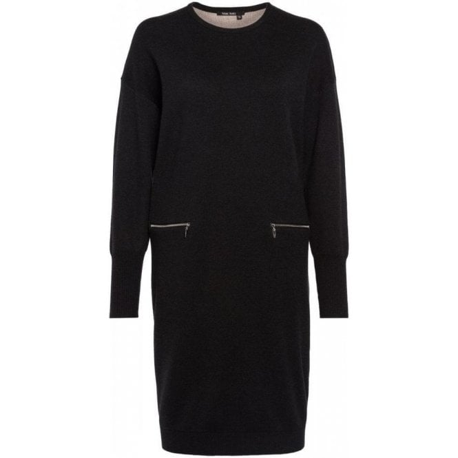 Marc Aurel Knit dress with zipper pockets
